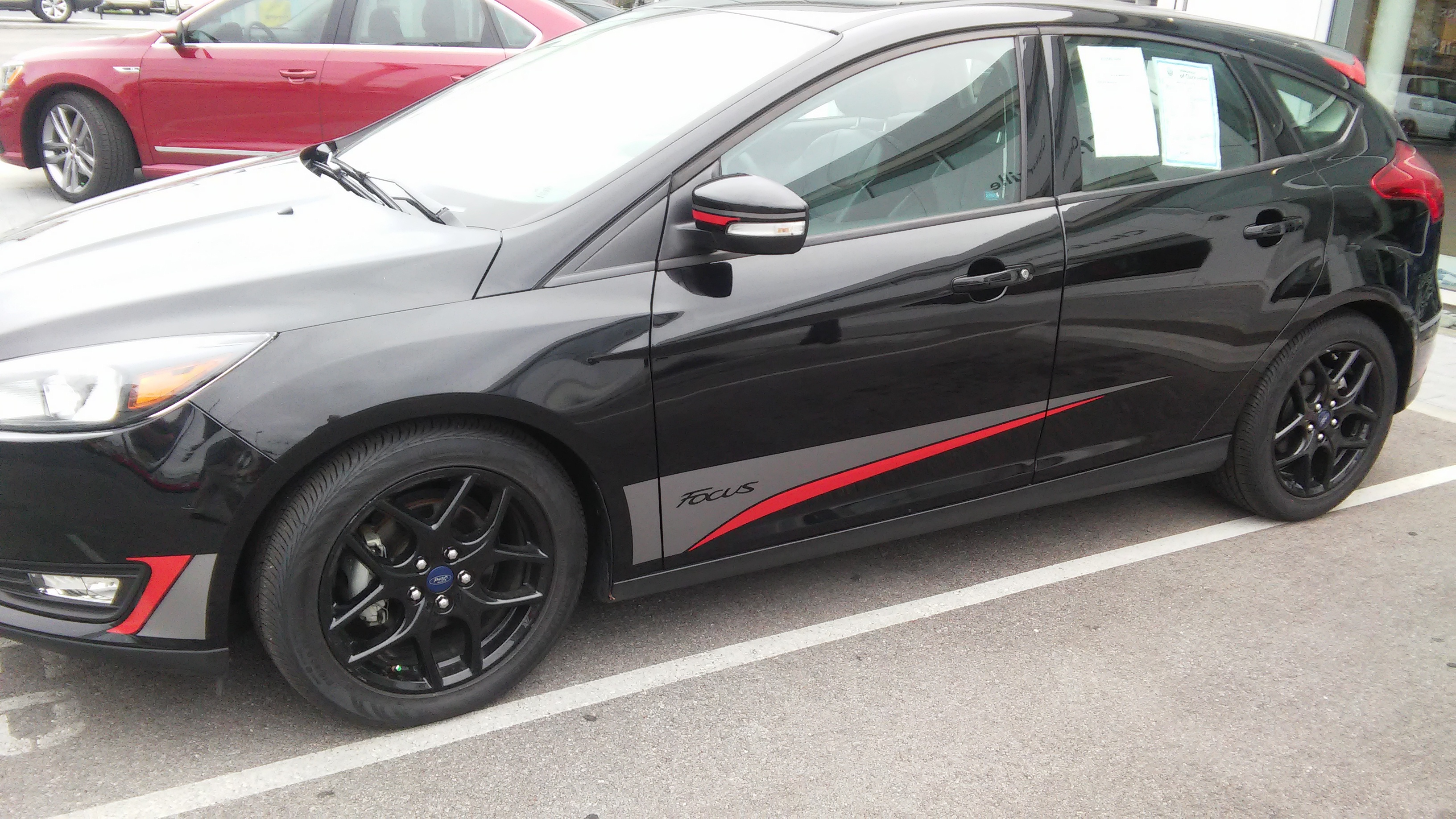 BLADE Vinyl Graphics for 2015-2018 Ford Focus