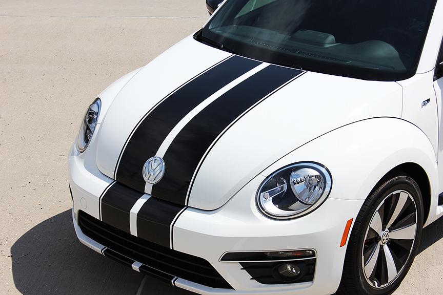 BEETLE RALLY Racing Stripes fit 2012-2017 VW Beetle
