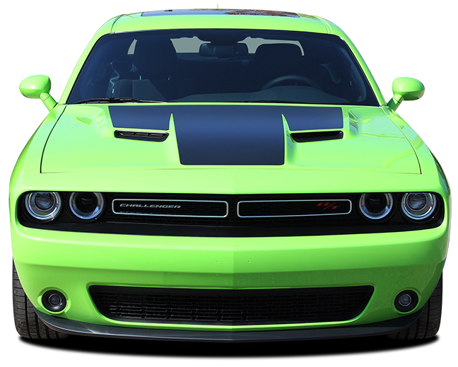 Challenge Hood Vinyl Decal fit 2015-2018 Dodge Challenger