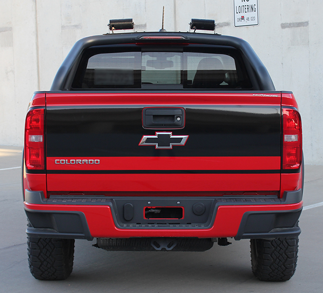 Grand Tailgate Vinyl Graphics fit Chevy Colorado 2015-2018