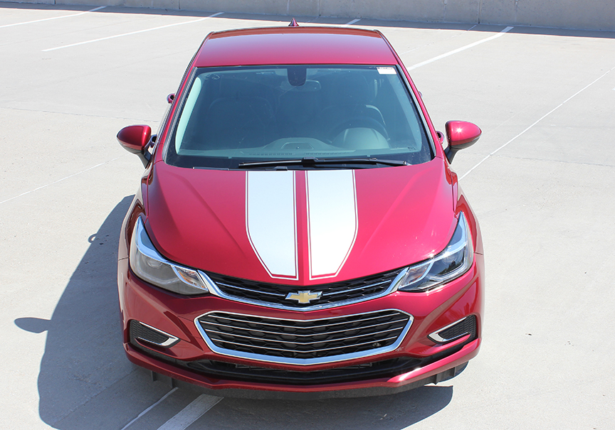 CRUZE RALLY Racing Stripes for 2016-2018 Chevy Cruze Call 812-725-1410
