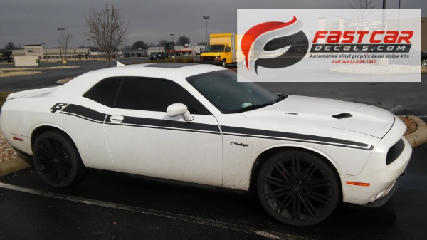 DUEL 15 RT Stripes for 2015-2018 Dodge Challenger