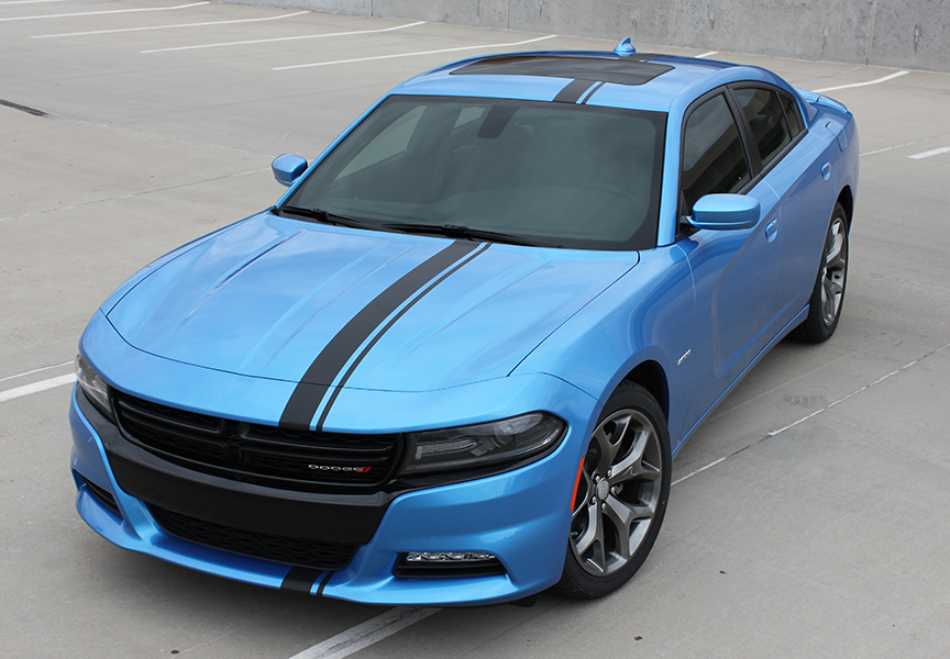 E Rally Vinyl Stripes fit 2015-2018 Dodge Charger