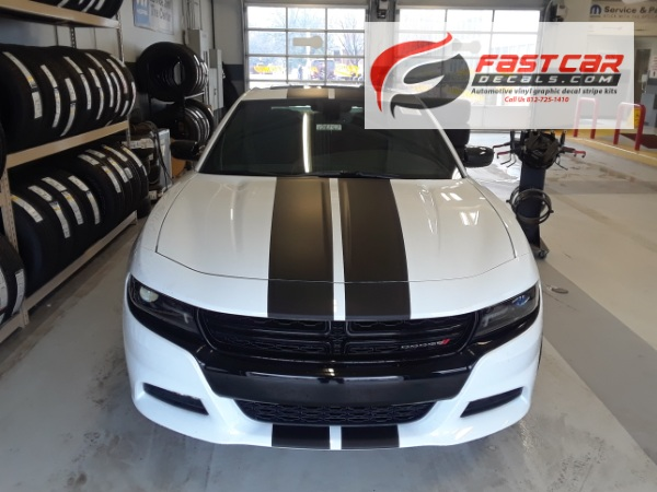 N CHARGE Rally Stripes 2016-2018 Dodge Charger