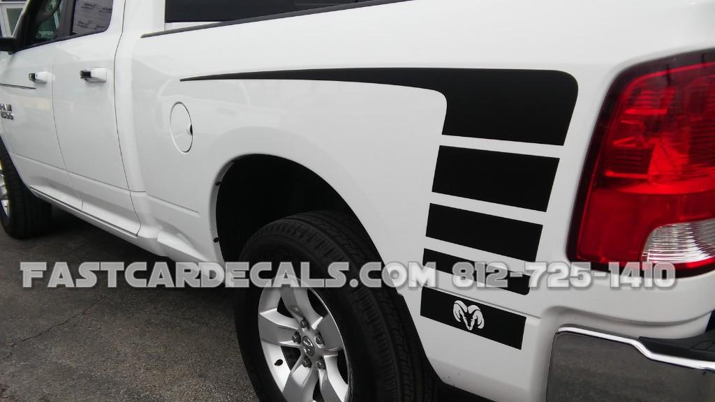 POWER Stripe kit for 2009-2018 Dodge Ram Truck