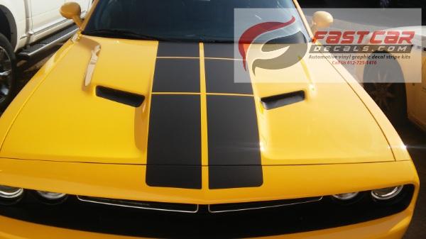 PULSE RALLY Vinyl Graphics 2008-2018 Dodge Challenger