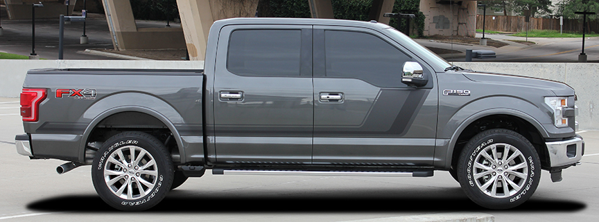 QUAKE Stripe Vinyl Graphics fit Ford Truck F150