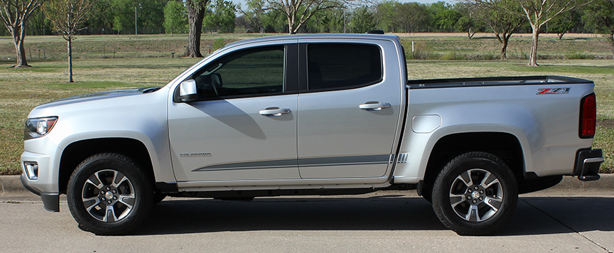 Raton Vinyl Graphics fit Chevy Colorado/GMC Canyon 2015-2018