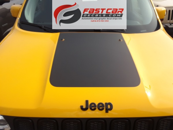 Renegade Hood Stripe for 2014-2018 Jeep Renegade