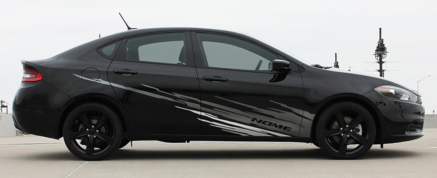 RIPPED Side GRaphics for 2013-2016 Dodge Dart