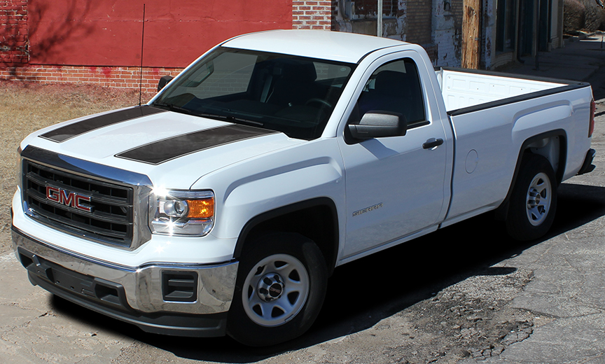SIERRA RALLY stripe graphics fit 2014-2018 GMC Sierra